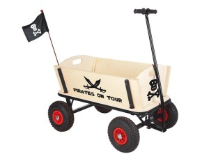 Bollerwagen Holz Pirat